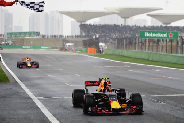 Red Bull Racing F1 Chinese Grand-Prix race review