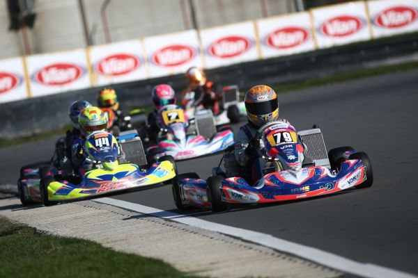 Belgian Karting Series Two Hundred Drivers For Seven Crowns At
