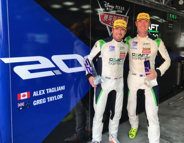 Podium finish for Alex Tagliani and Greg Taylor in Round 7 of the FRD LMP3 Series in Zhuhai, China