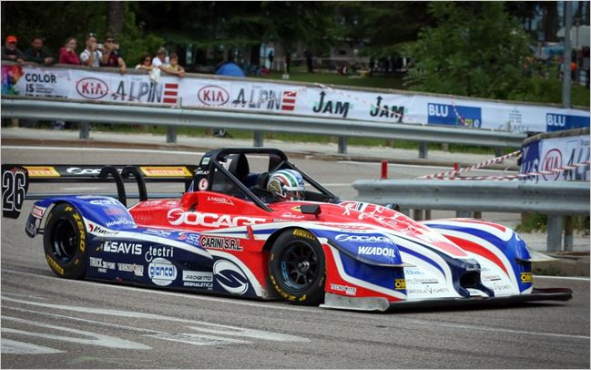 Trento-Bondone Hillclimb victory and record time for Faggioli with Pirelli