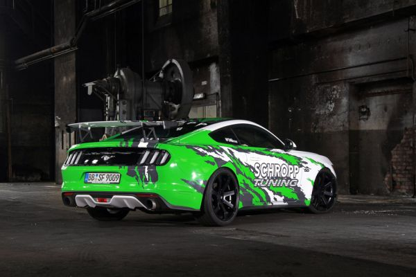 Schropp Tuning SF600R - A wild Mustang with 807 hp / 950 Nm