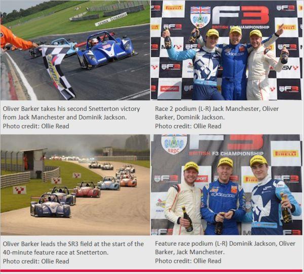 Radical Challenge: Barker Takes Snetterton Straight Wins