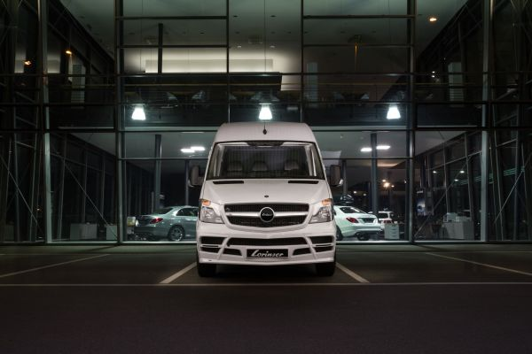Lorinser customises the Mercedes Sprinter into a sporty and dynamic eye-catcher.