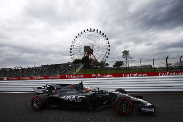 Haas F1 Team Japanese Grand-Prix qualifying