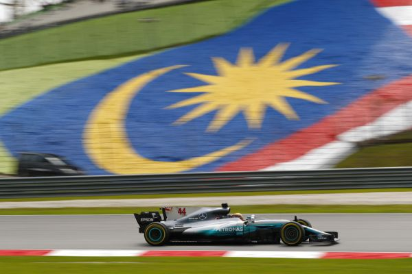 Mercedes AMG Petronas F1 Malaysian Grand Prix practices