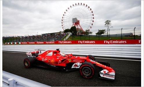 Pirelli F1 Japanese Grand-Prix practice sessions
