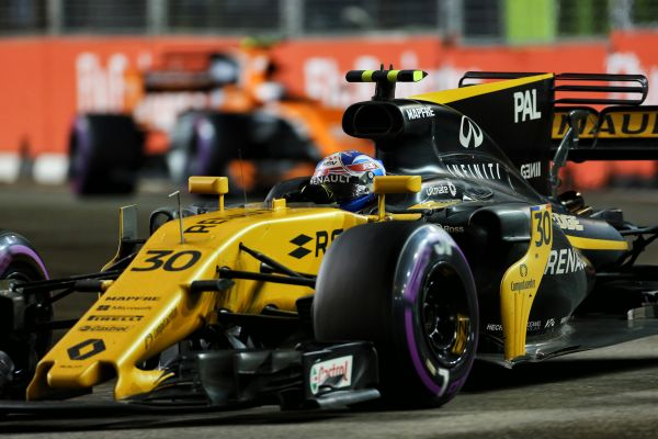 Renault Sport F1 Singapore Grand-Prix race review
