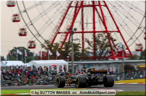 Renault Sport F1 Japanese Grand-Prix practices review