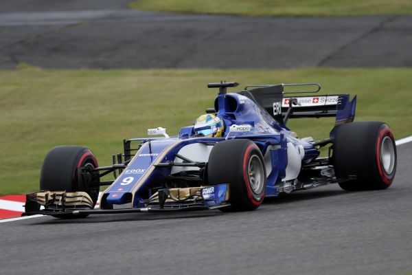 Sauber F1 Team Japanese Grand-Prix qualifying