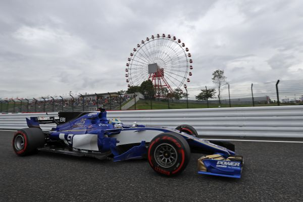 Sauber F1 Team Japanese Grand-Prix practices