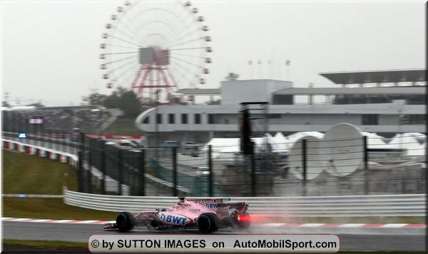 Sahara Force India F1 Japanese Grand-Prix practices review