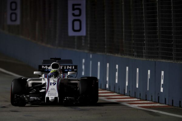 Williams Martini Racing F1 Singapore GP qualifying review