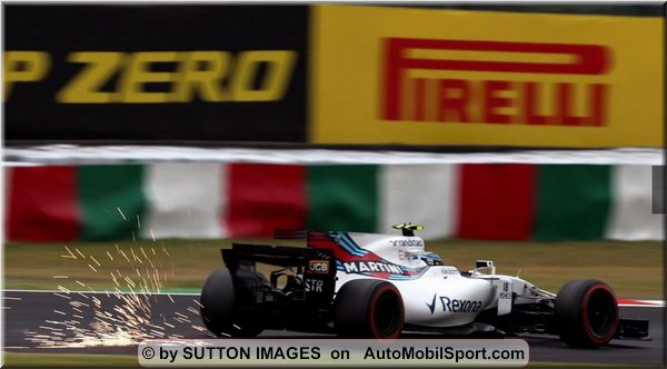 Williams Martini Racing F1 Japanese Grand-Prix practices