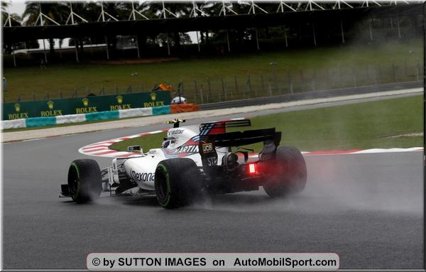 Williams Martini Racing F1 Malaysian GP Friday practices review
