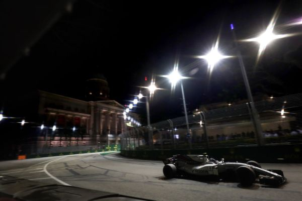 Williams Martini Racing F1 Singapore Grand-Prix race notes