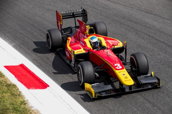 Nyck De Vries qualifies second for Racing Engineering today at Monza.