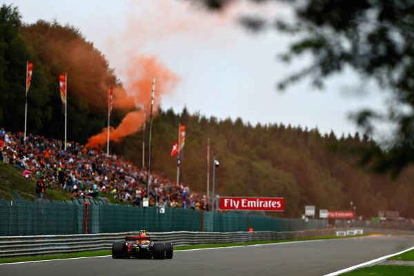 Max Verstappen out in Belgian GP