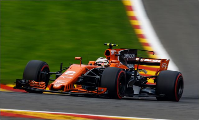 McLaren Honda F1 Team Belgian Grand-Prix race