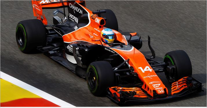 McLaren Honda F1 Team Belgian Grand-Prix qualifying