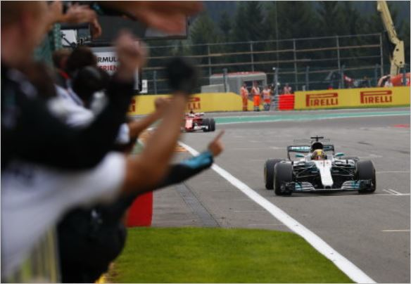 Mercedes AMG Petronas F1 Belgian Grand-Prix race review
