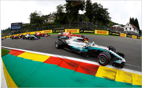 Pirelli F1 Belgian Grand-Prix race review