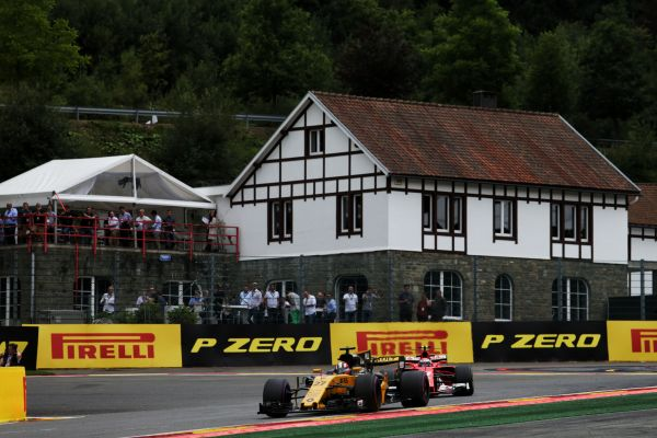 Renault Sport F1 Belgian Grand-Prix practices review
