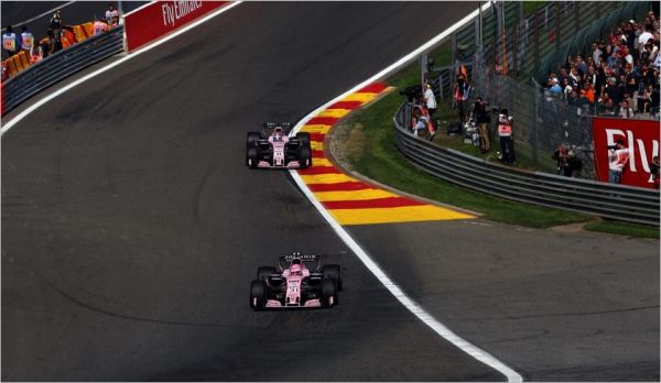 Sahara Force India F1 Belgian Grand-Prix practices review