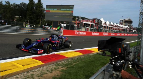 Scuderia Toro Rosso F1 Belgian Grand-Prix qualifying review