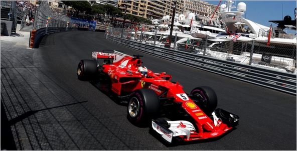 F1 Monaco Grand-Prix race result