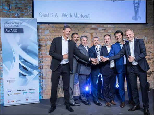 SEAT wins the Manufacturing Excellence Award 2017