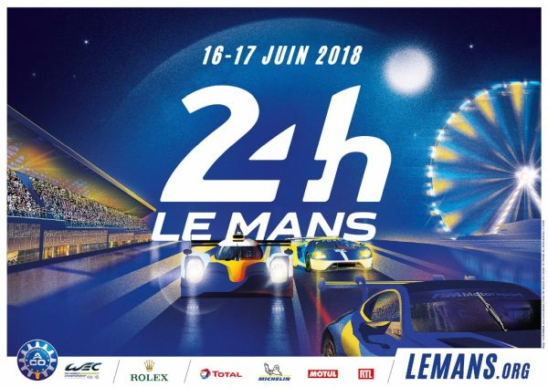 2018 le mans 24 hours poster revealed. Black Bedroom Furniture Sets. Home Design Ideas