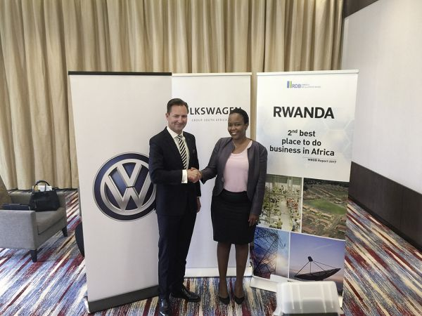 New market potentials in Africa – Volkswagen founds company for mobility solutions in Rwanda