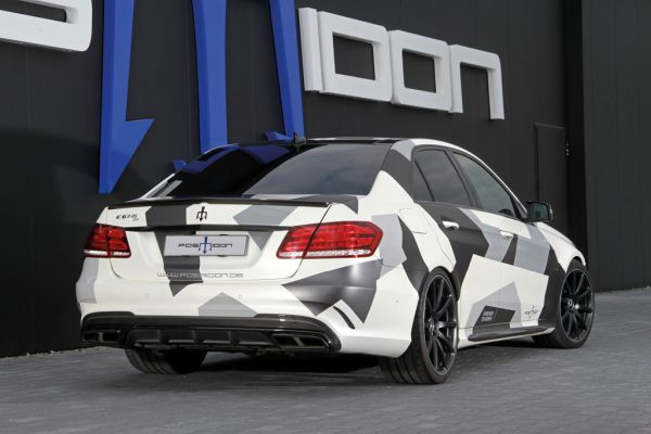 E-Class: more than 1,000 HP in the Posaidon E 63 RS 850+