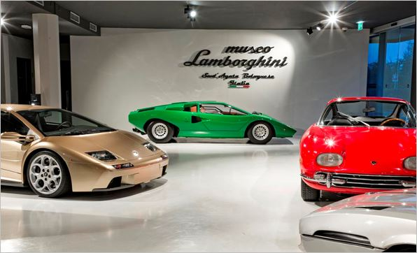 A record-breaking 2017 for the Lamborghini Museum