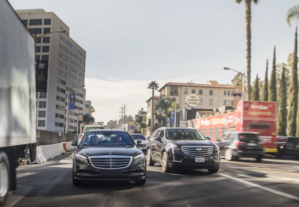 Mercedes benz on automated test drive in the usa for Mercedes benz research development north america