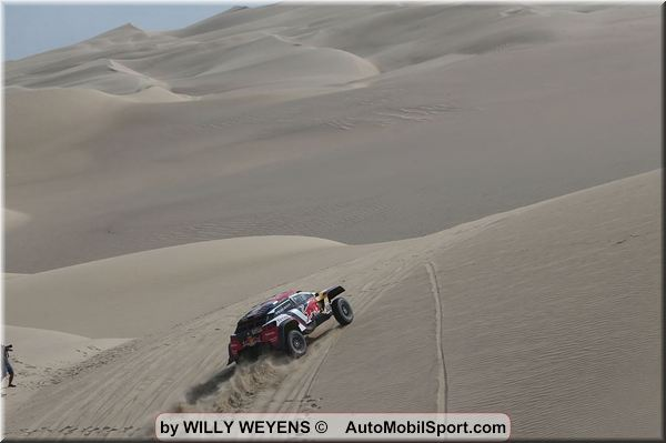 Video Dakar Rally 2018 stages 2 and 3 Willy Weyens