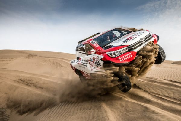 toyota gazoo racing sa clears final hurdles for dakar 2018. Black Bedroom Furniture Sets. Home Design Ideas