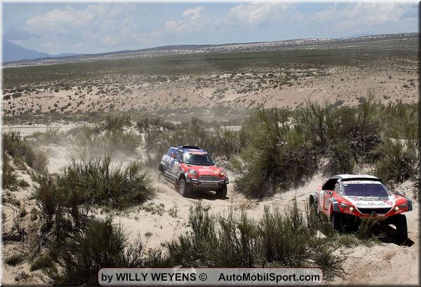 Video Dakar stages 10 and 11 impressions by Willy Weyens
