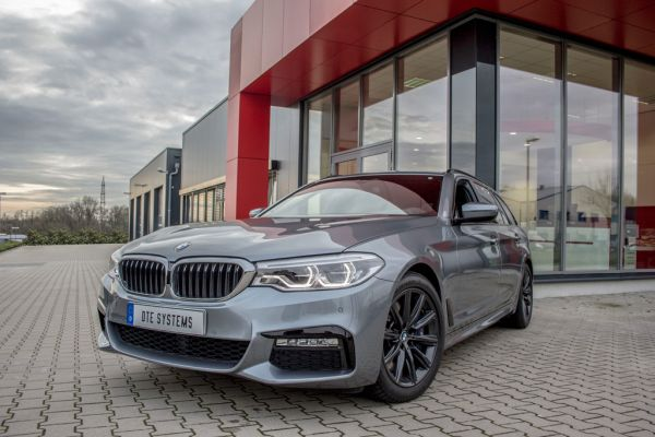 The BMW petrol tuning: Motor- and accelerator tuning from DTE Systems