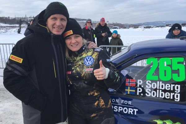Petter Solberg thrills fans at Swedish rally classic