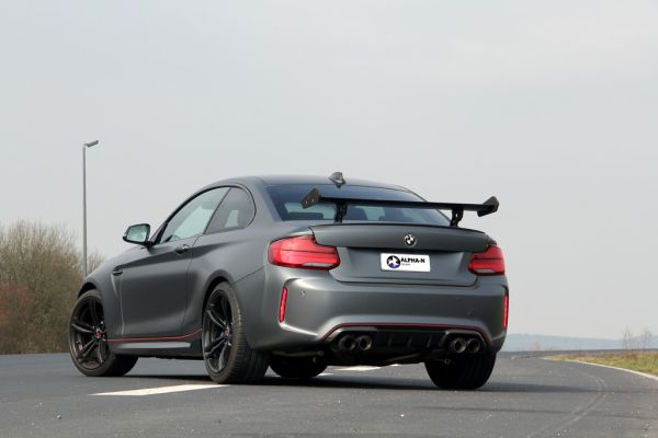 Alpha-N: totally enhanced BMW M2 with 430 HP