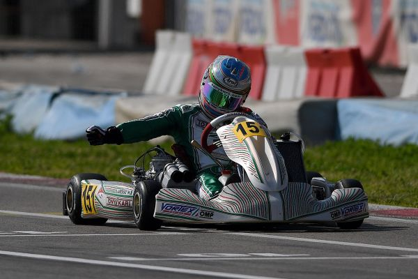 Marco Ardigò (KZ2) scores double in Sarno in the final round of WSK ...