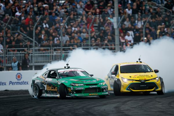 Formula Drift season opens with excitment and drama on the streets of Long Beach
