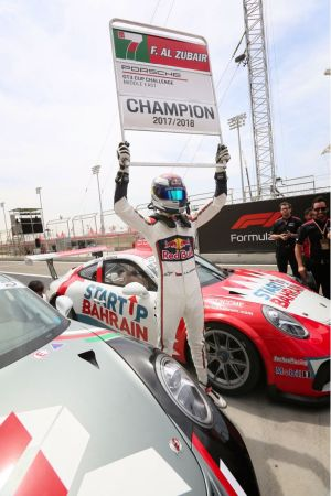 Oman's Al-Zubair clinches Porsche GT3 Cup Middle East title with race win1 in Bahrain