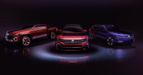 Volkswagen presents the Atlas Cross Sport and Atlas Tanoak ...