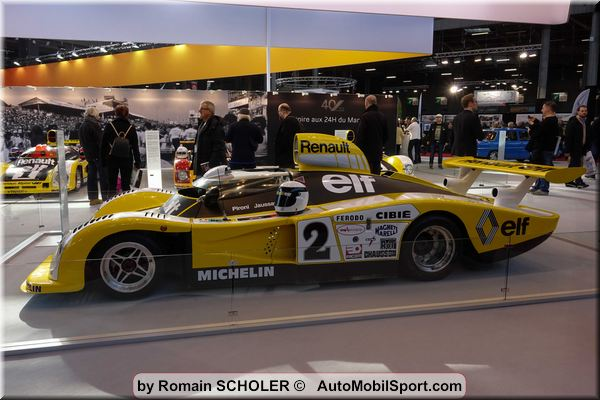 Retromobile Show Paris - things are ticking over for classic cars