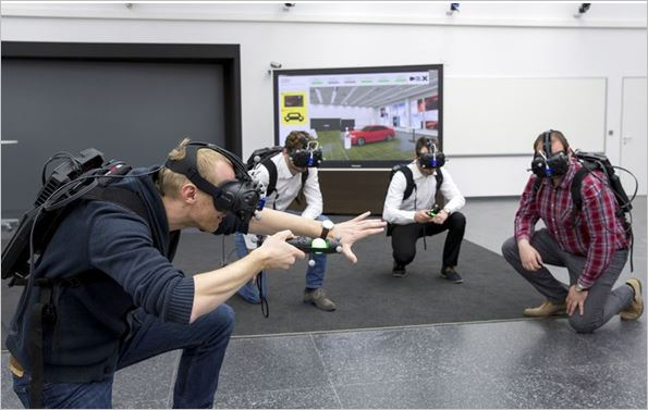"Audi tests ""virtual reality holodeck"" for faster product development"