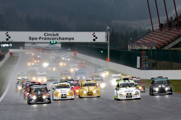 Volkswagen Fun Cups Europe and France in Spa