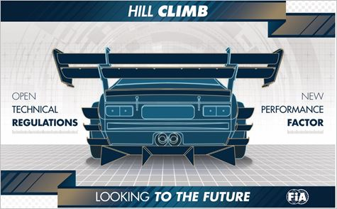 FIA - Towards new technical regulations for Hill Climb