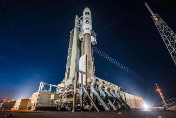 A ULA Atlas V rocket carrying the GOES-S mission launch soon